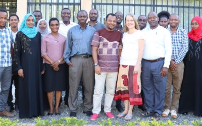 Resilience Academy and GeoICT4e training to university experts on e-learning using Digicampus