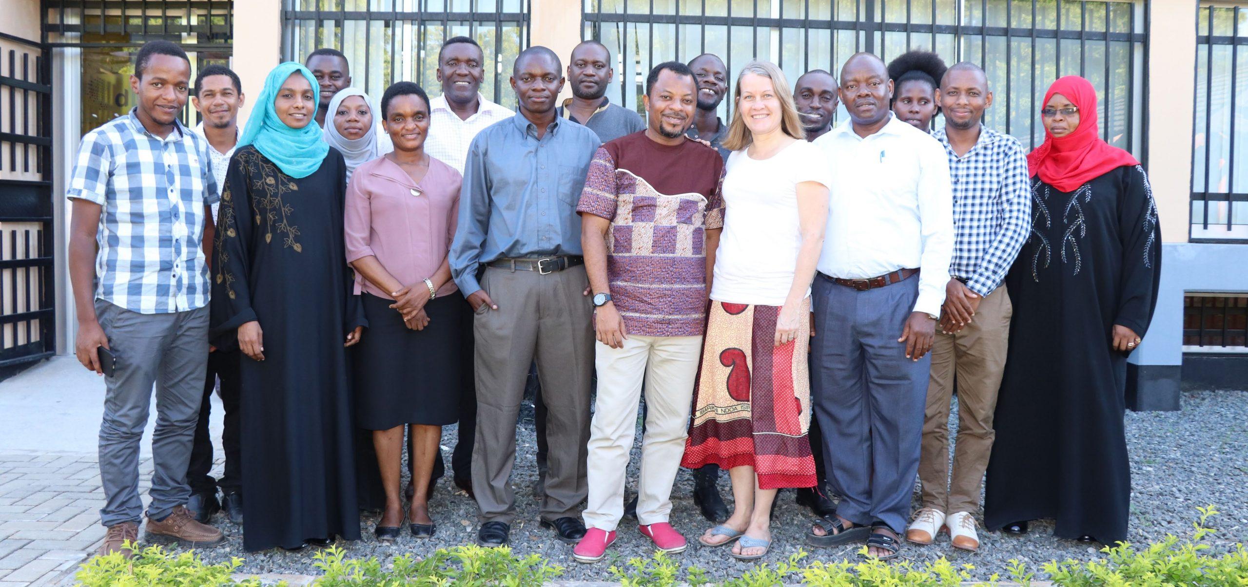 Group photo of University experts